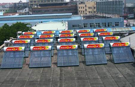 鲁佳阳光太阳能工程案例5