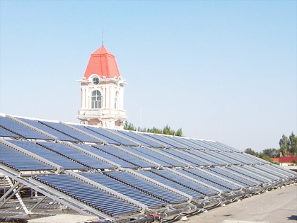 鲁佳阳光太阳能工程案例1
